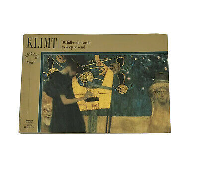 $ CDN15.76 • Buy Klimt (Postcard Book) By Pavilion Books 30 Full Color Cards 1st First Edition