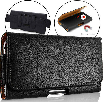 £5.73 • Buy For Oukitel C21 Phone Case Leather Belt Holster Clip Pouch Cover