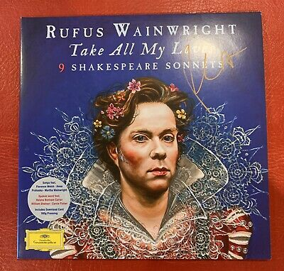 £49.99 • Buy Rufus Wainwright - Take All My Loves SIGNED VINYL 2 X LP NEAR MINT CONDITION