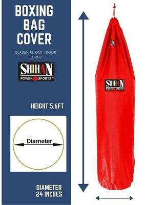 AU63.45 • Buy Outdoor Punch Bag Rain Cover Waterproof 5-6ft X 24inch RED IDEAL GIFT