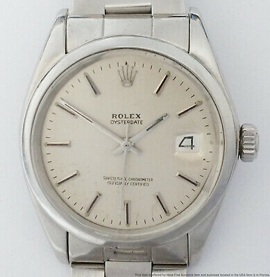 $ CDN2477.67 • Buy Rolex Oyster Date Perpetual Vintage Automatic Mens Wrist Watch