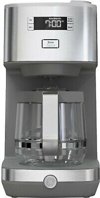 View Details GE - Classic Drip 12-Cup Coffee Maker - Stainless Steel • 58.51£