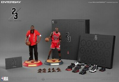 $730 • Buy ENTERBAY 1:6 Real Masterpiece NBA Collection Michael Jordan Action Figure