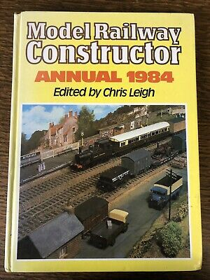 Model Railway Constructor Annual 1984 Very Good Condition • 0.99£