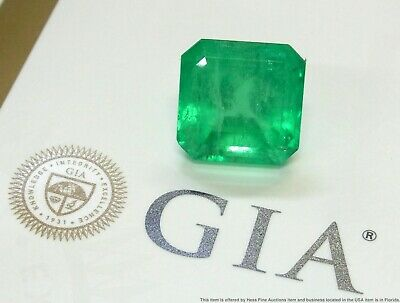 Ultra Rare 46ct GIA HUGE Natural Colombian Emerald Unset Loose Quality Gemstone • 477.55£