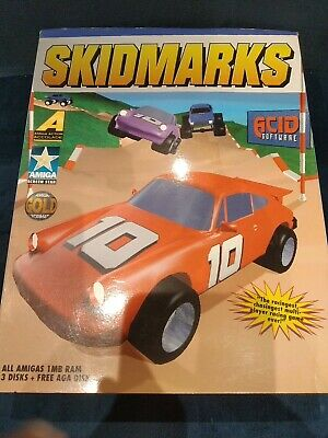 £29.99 • Buy Skidmarks With Super Skidmarks Upgrade - Amiga - Boxed And Complete