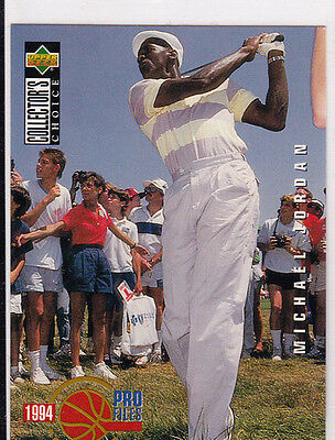 $0.99 • Buy Michael JORDAN Chicago Bulls GOLF CARD Upper Deck CC Basketball Star NO RES!