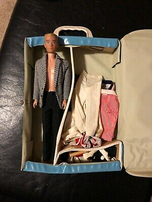 $ CDN254.33 • Buy Vintage 1960s Mattel Barbie Ken Doll, Clothing, Accessories And Case Lot - Nice