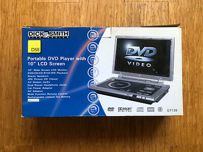 AU89.99 • Buy 10'' Portable DVD/CD/MP3 Player Dick Smith