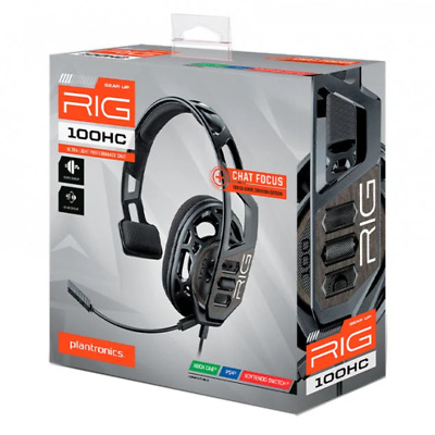 AU32.95 • Buy RIG 100 HC Wired Gaming Headset For PS4 Xbox One & Switch NEW
