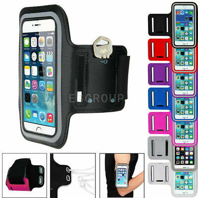 AU16.53 • Buy For IPhone 12 11 XS MAX Leather Arm Band Case Sports GYM Ourdoor Exercise Bag