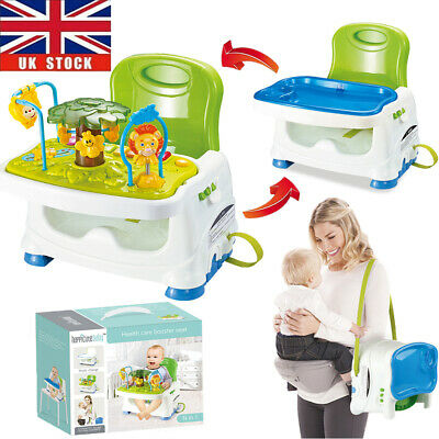 £28.96 • Buy Travel Feeding Booster Seat Toddler Highchair Portable Activity High Chair +Tray
