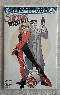 Suicide Squad #1 (2016 ) Dynamic Forces Exclusive Variant Cover With Coa • 8.95£
