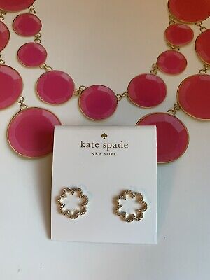 $ CDN29.37 • Buy BN Kate Spade Gold Tone Scallop Stud Earrings -Fab