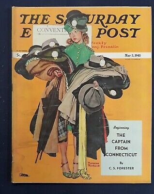 $ CDN31.18 • Buy Norman Rockwell Saturday Evening Post May 3, 1941