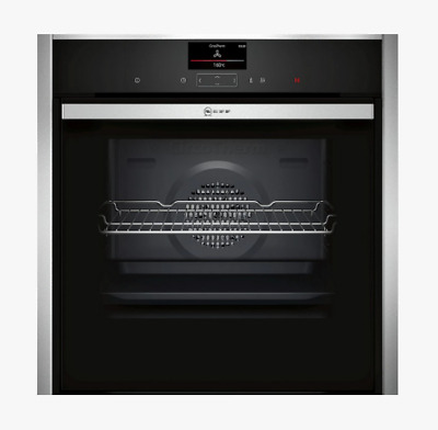 £589.99 • Buy Neff B47CS34H0B Slide And Hide Integrated Single Electric Oven, 60cm Wide, A1157