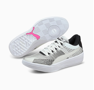 Puma Basketball Clyde All-Pro White Black New Men Shoes Hoops LIMITED 194039-03 • 75.13£