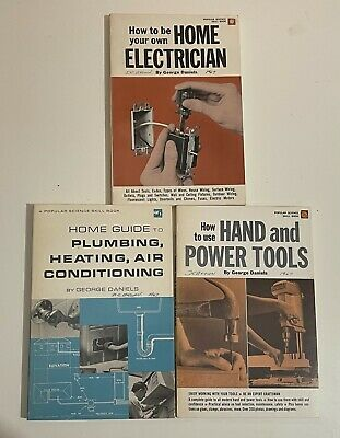 £10.88 • Buy  Popular Science Skill Book - Lot Of 3 - Electrician Hand & Power Tool Etc. 1967