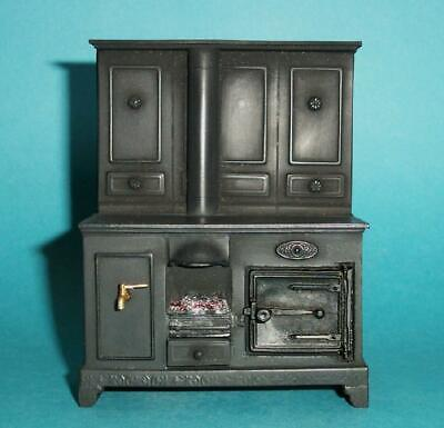 £45 • Buy 1/12 Scale Dolls House, Kitchen Range; Opening Door And Lighting Fire KRSF