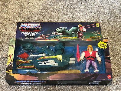 $55.99 • Buy Masters Of The Universe: He-Man Prince Adam Sky Sled Jet-Powered Rescue Rocket