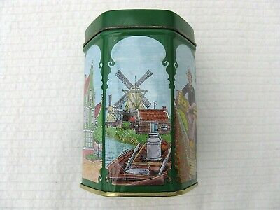 Vintage Dutch Sweets, Confectionary Tin With Nice Dutch Scenes. Holland Tin. • 7£