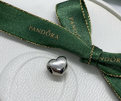 AU15.90 • Buy Pandora Puffy Smooth Heart Charm 790137 Retired Authentic Ale 925 Retired