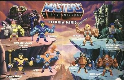 $11.99 • Buy Masters Of The Universe Eternia Minis Series 2 YOU CHOOSE Free Shipping! Toys