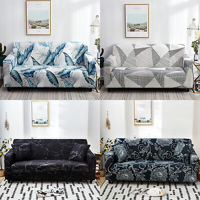 AU43.99 • Buy Sofa Cover Couch Lounge Protector Slipcovers Stretch Covers 1234 Seater AU STOCK