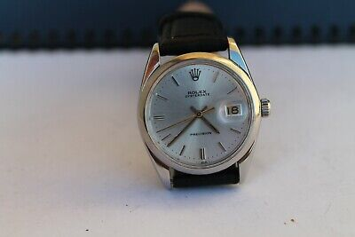 $ CDN4135.80 • Buy Vintage Old Swiss Wrist Watch Man ROLEX OYSTERDATE PRECISION Model:6694 Cal.1225