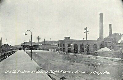 $12.95 • Buy A View Of The P. & R. Station & Electric Plant, Mahanoy City, Pennsylvania PA