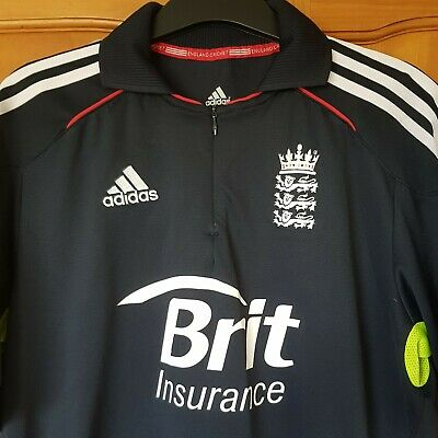England Cricket Quarter-Zip Shirt • 9.99£