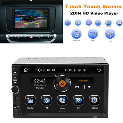 $91.49 • Buy 7  Bluetooth Car Stereo Radio 2DIN Video MP5 Player Touch Screen Mirror Link Set