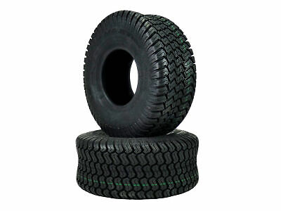 £36.11 • Buy Set Of 2 15x6.00-6 Tubeless Turf Tires Lawn Mower Tractor 4 Ply