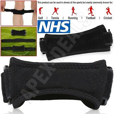 Adjustable Patella Tendon Strap Knee Support Jumpers Runners Pain Band Brace NHS • 2.85£