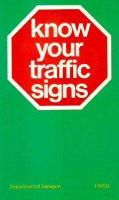 £3.58 • Buy Know Your Traffic Signs-Dept.of Transport