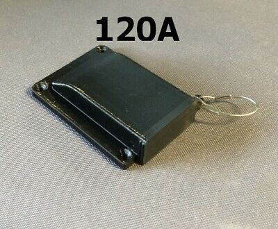 AU24 • Buy 120A Black Anderson SB120 Plug Surface Cover + Insect/Dust Cap