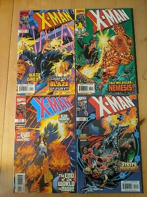 12 X-Man Marvel Comics, Terry Kavanagh *MINT CONDITION* • 0.99£