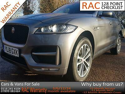 Jaguar F-PACE 2.0 I4D 180ps AWD 2018MY R-Sport AUTO GREY • 29,479£