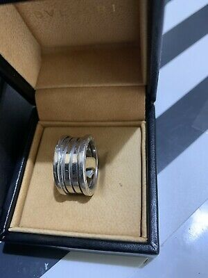 AU850 • Buy Bvlgari B Zero 3 Band Ring Size 56 White Gold