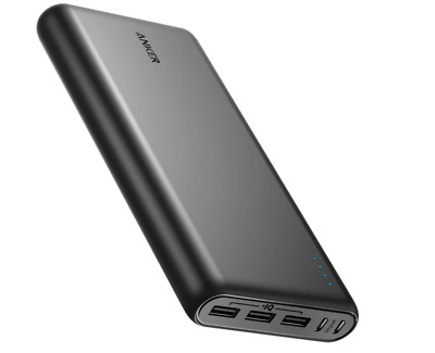 AU129.99 • Buy Power Bank Portable Charger With Dual Input Port Anker High Quality 26800mAh