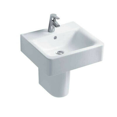 Ideal Standard Concept Cube 55cm Washbasin One Tap Hole - Basin Only - E784201 • 60£