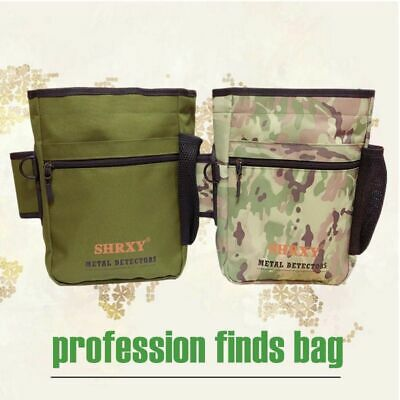 Metal Detecting Gold Finds Bag Multipurpose Digger Pouch For PinPointer Xp ProPo • 24.05£