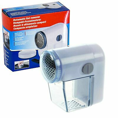 £3.99 • Buy Electric Lint Remover Clothes Bobble Fluff Shaver Battery Operated Debobbler