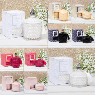 £9.99 • Buy Scented Candle Diffuser Fragrance Soy Candles Home Glass Jar