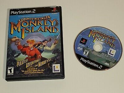 £7.05 • Buy Escape From Monkey Island Playstation Two PS2 - TESTED - Fast Shipping