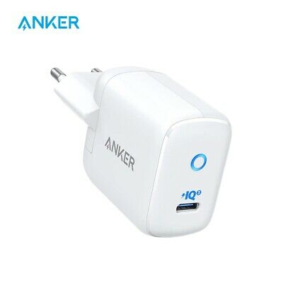 AU42.16 • Buy Anker 30W PIQ 3.0 Fast Charger Adapter PowerPort III Mini Compact Type-C Charger