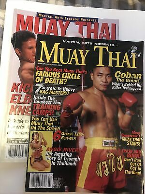 $9 • Buy Muay Thai Magazines April 2000 And July 2002