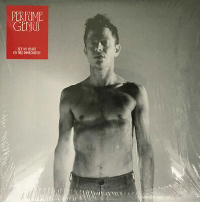 Perfume Genius Set My Heart On Fire Immediately Red Gold Double Vinyl LP LRS • 25.99£
