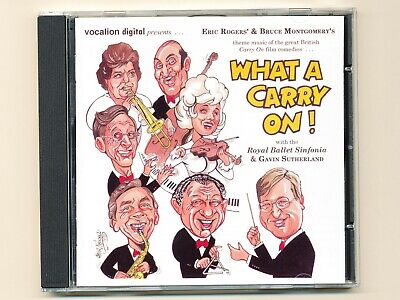 Eric Rogers Bruce Montgomery WHAT A CARRY ON ! Gavin Sutherland Soundtrack CD NM • 6.99£