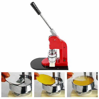 £69.45 • Buy 44mm Badge Punch Press Maker Machine With 1000 Circle Button Parts+Circle Cutte